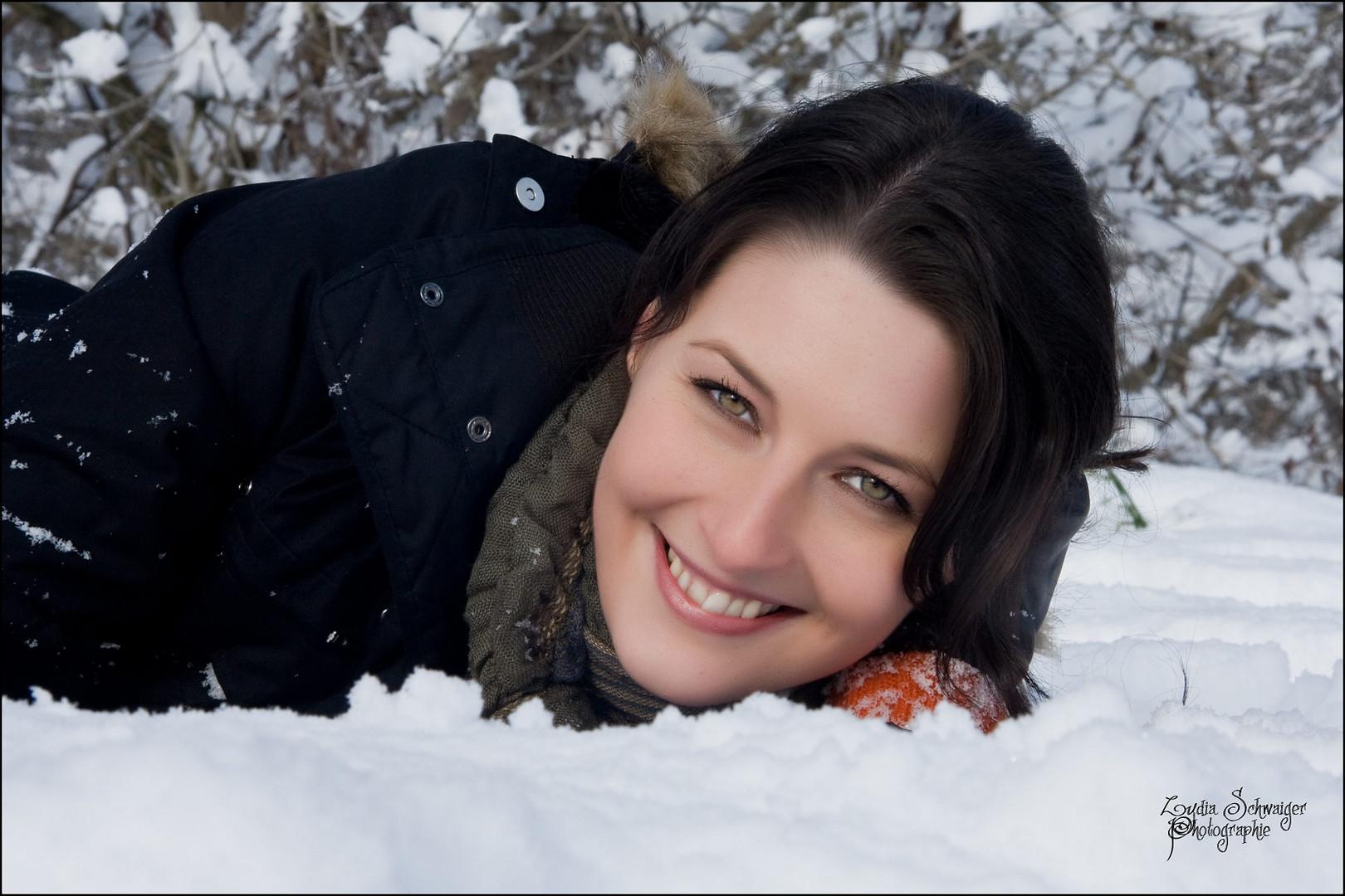 ...Let it snow....