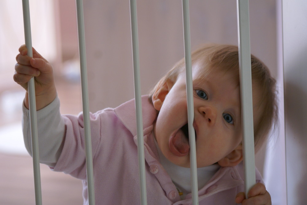 ...let me out...