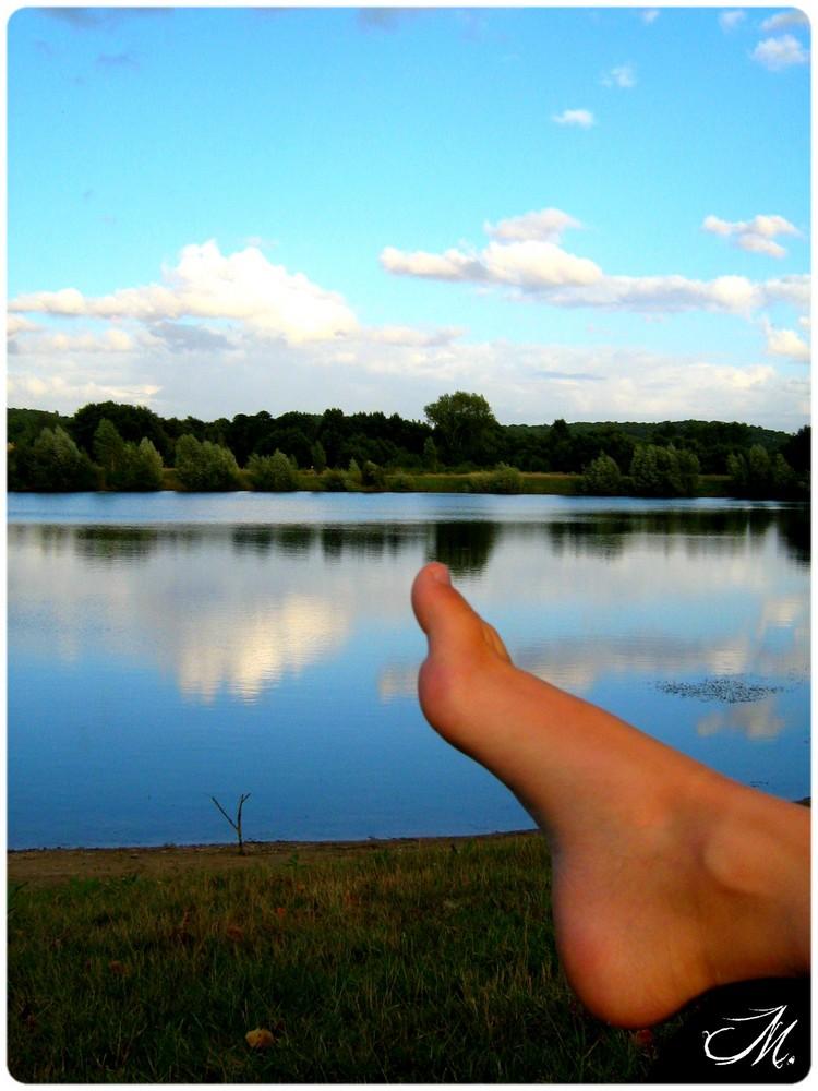 L'été, sa chaleur, sa douceur, & ses occasions de vivre des instants de pur Bonheur.