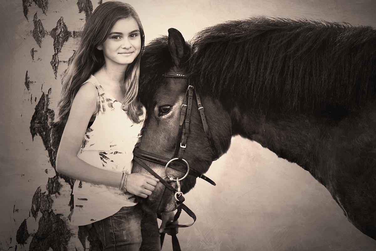 Leti und Pony