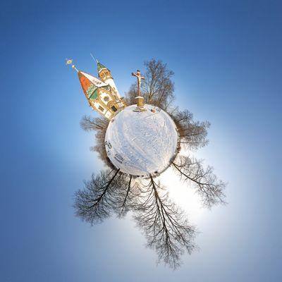 Letzenberg Kapelle im Winter