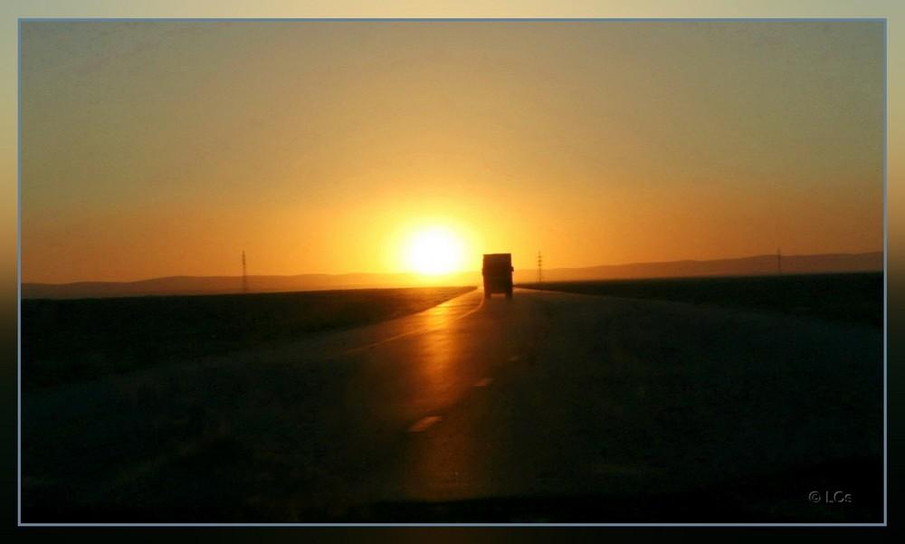 Letzte Ausfahrt: Sonne
