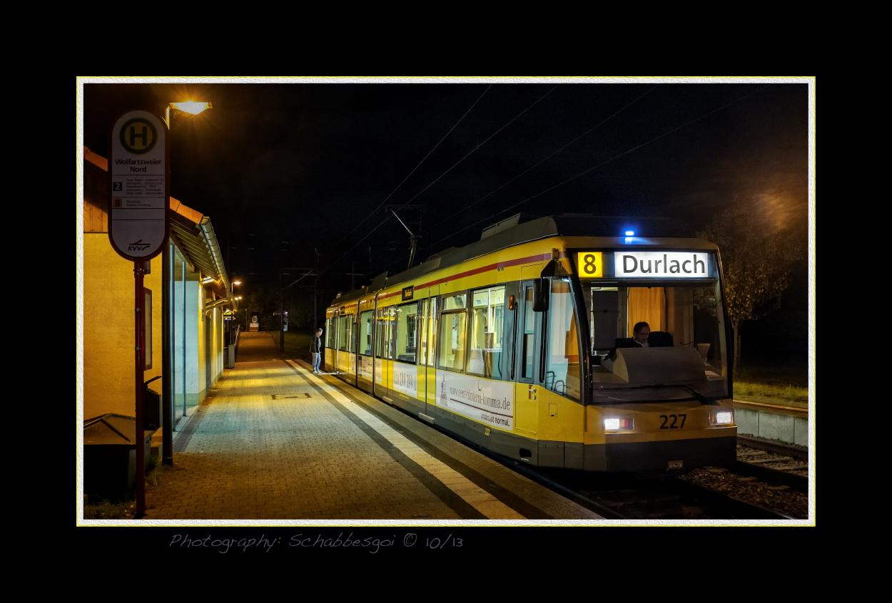 Letzte Bahn nach Durlach