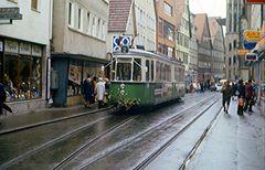 Letzte Fahrt der Reutlinger Straßenbahn