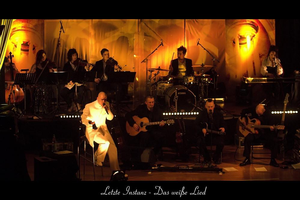 Letzte Instanz LIVE! @ Musikhalle Ludwigsburg (Akkustiktour: Das weiße Lied)