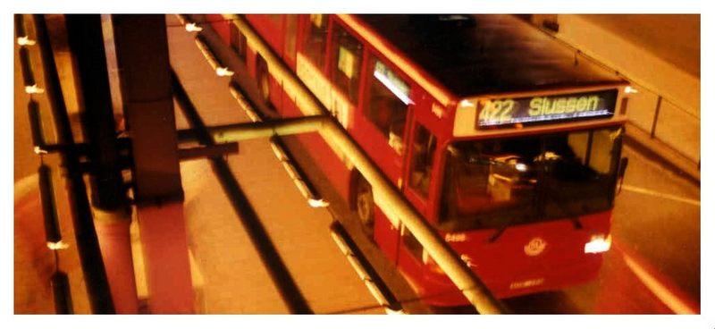 letzte station slussen dort wo das nachtleben von stockholm tobt...