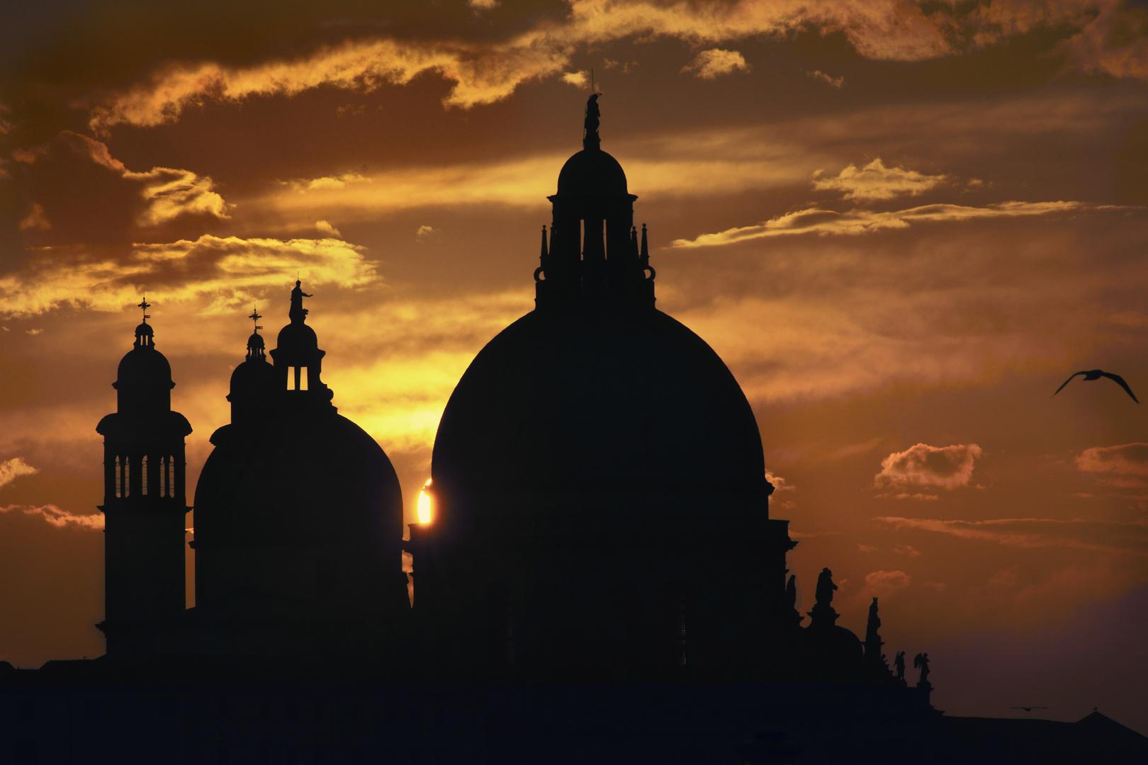 Letzte Strahlen. Santa Maria della Salute