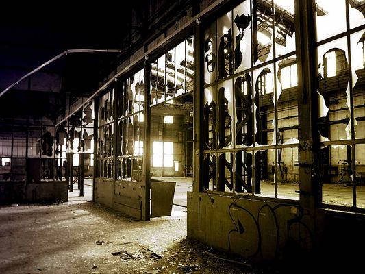 Letzte Werkhalle Kruppgelände Rheinhausen