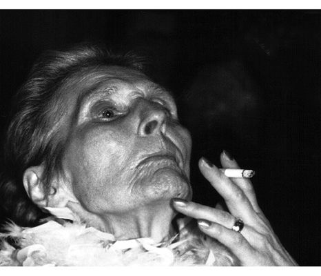 letzte Zigarette....