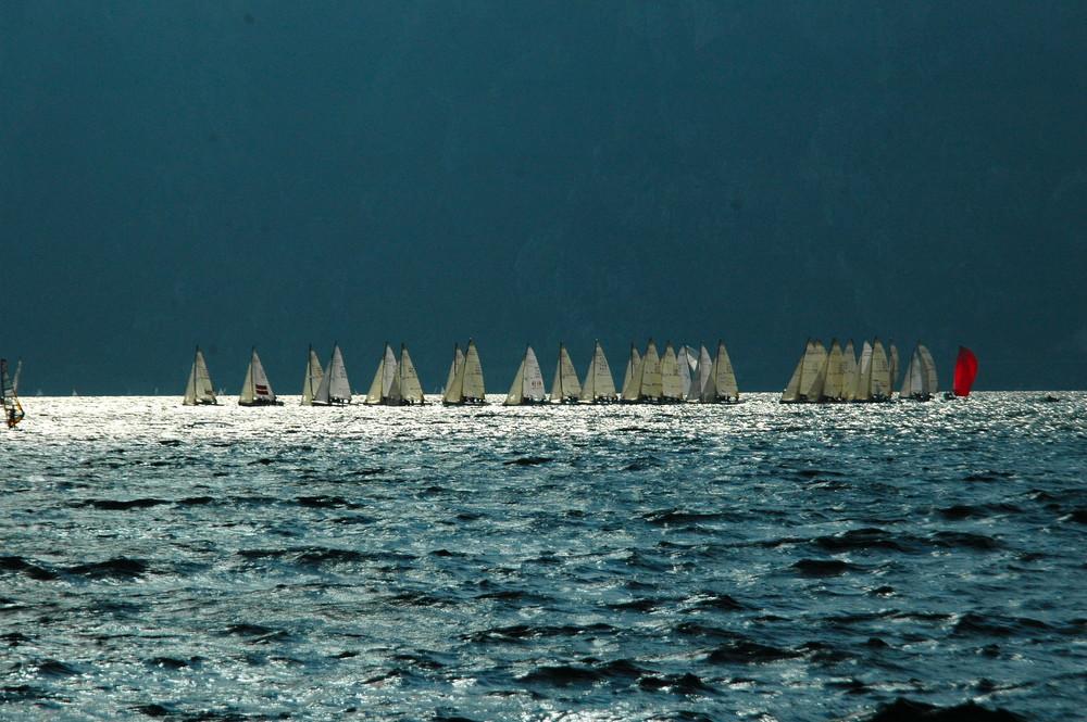 letzten Sommer am Gardasee