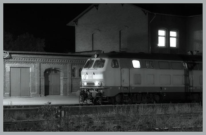 Letztens am Bahnhof
