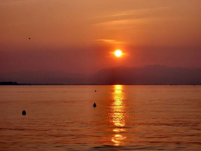 Letzter Abend am Gardasee