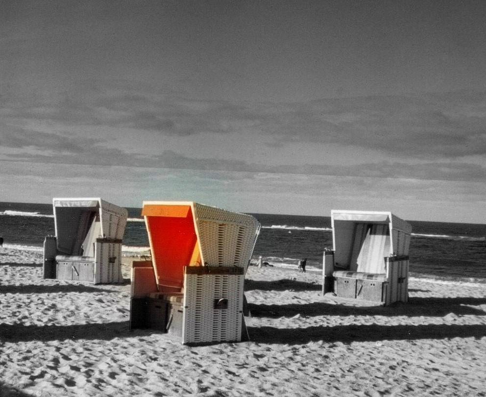 letztes Glühen am Strand von Sylt ;-)