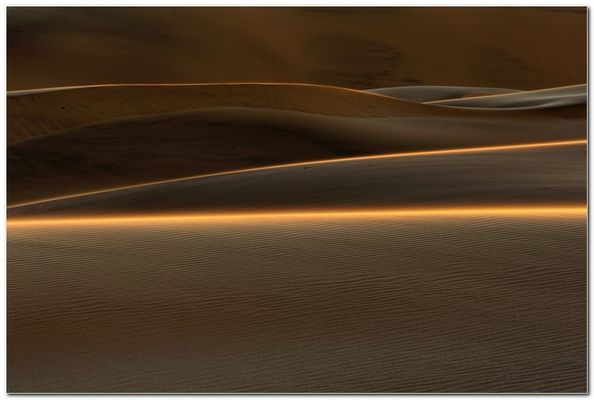 Letztes Licht bei den Duenen - Last light at the dunes