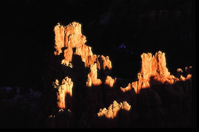 Letztes Licht im Brice Canyon