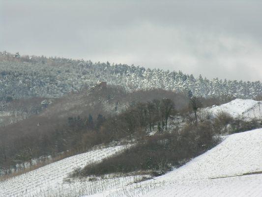 Letztes Sonntag,von mein Fenster, in Barr, Elsass, Frankreich