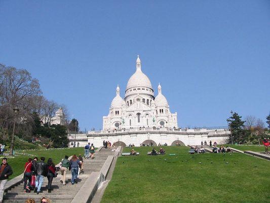 Letztes Wochenende am Montmartre.......