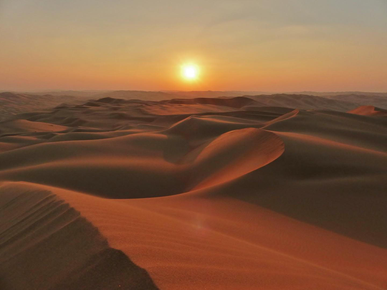 Letztes Wüstenlicht