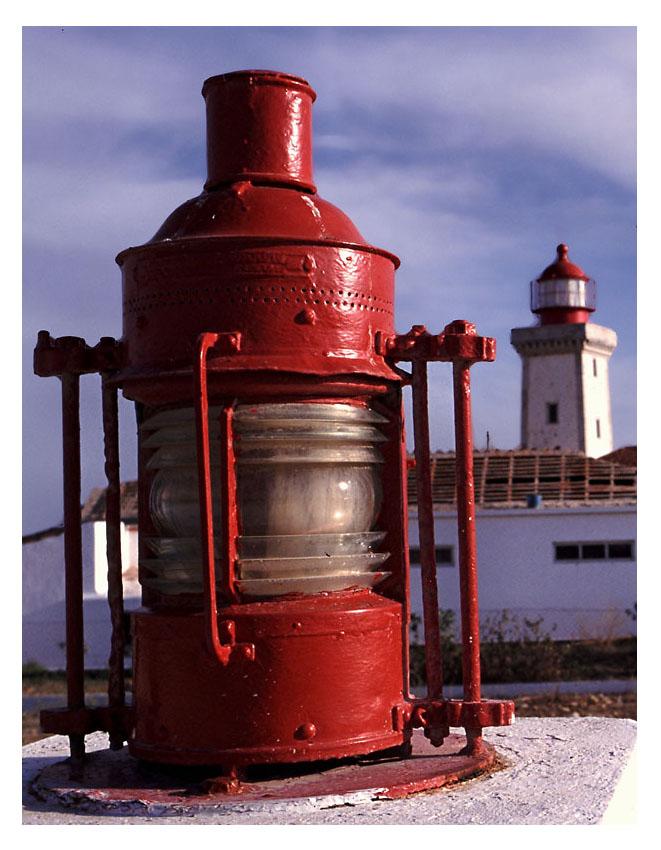 Leuchte am Leuchtturm