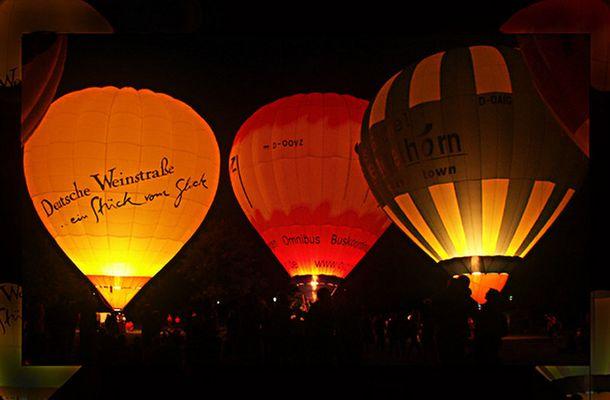 Leuchte Ballon Leuchte