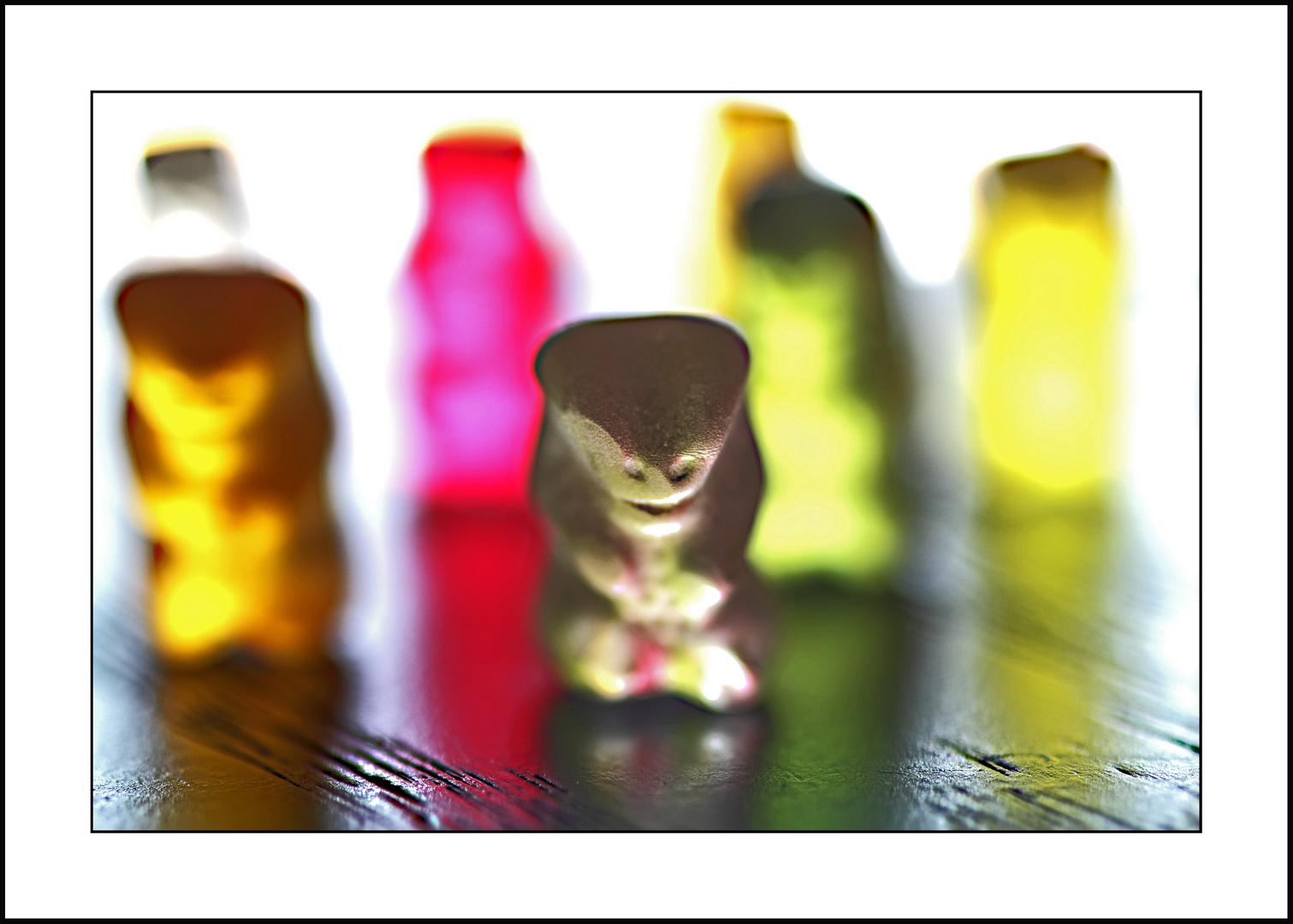 leuchtende Bären