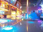 Leuchtende Bar