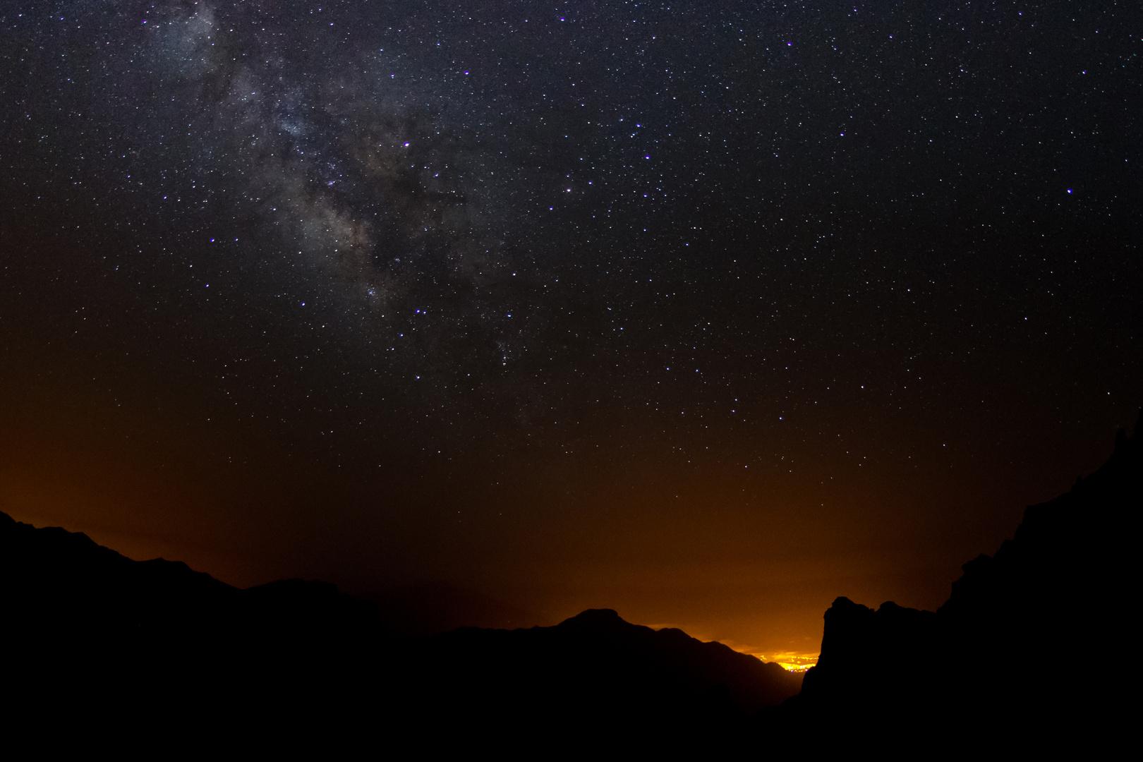 Leuchtende Nacht