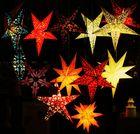 Leuchtende Sterne zur Adventszeit