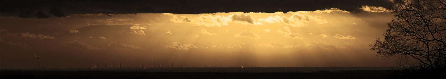 Leuchtender Horizont