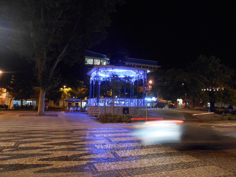 Leuchtpavillon