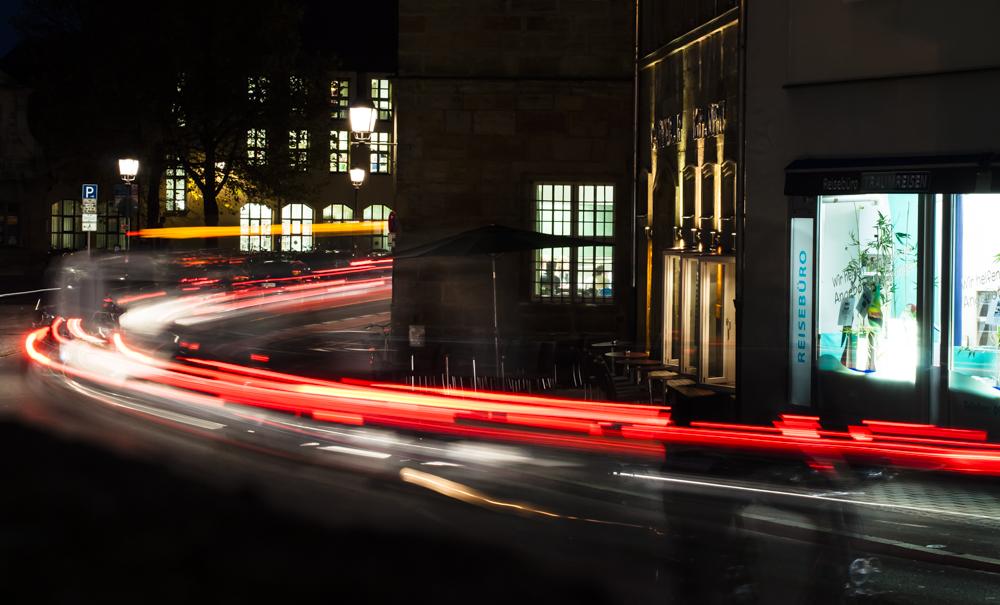 Leuchtspuren - Titelbild der Ausstellung
