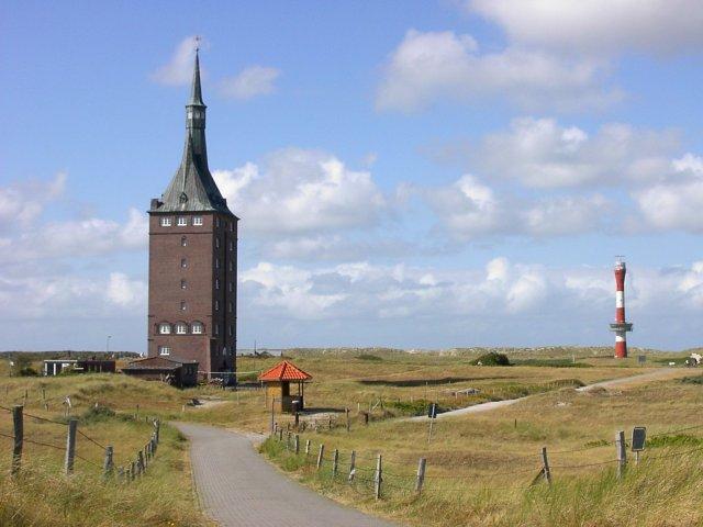 Leuchtturm - alt und neu