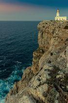 Leuchtturm am Cap de Cavalleria (Menorca)