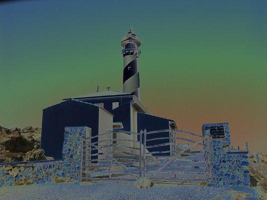 Leuchtturm am Cap de Favaritx