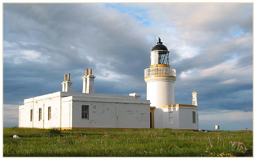 Leuchtturm am Chanonry Point