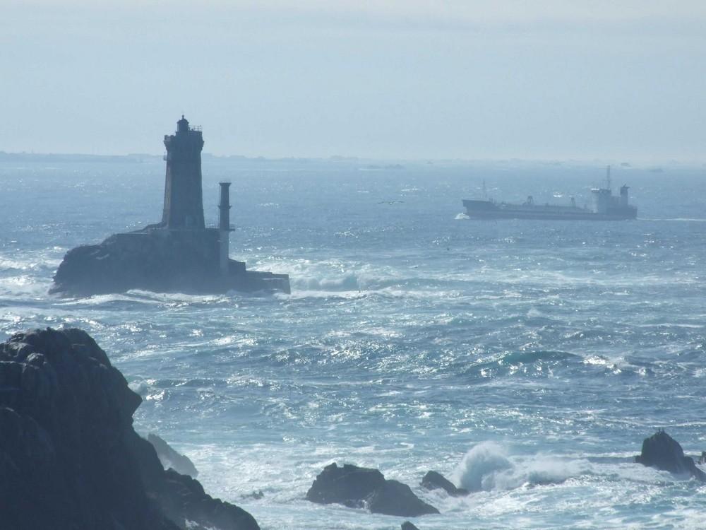 Leuchtturm am Pointe du Raz (Bretagne)
