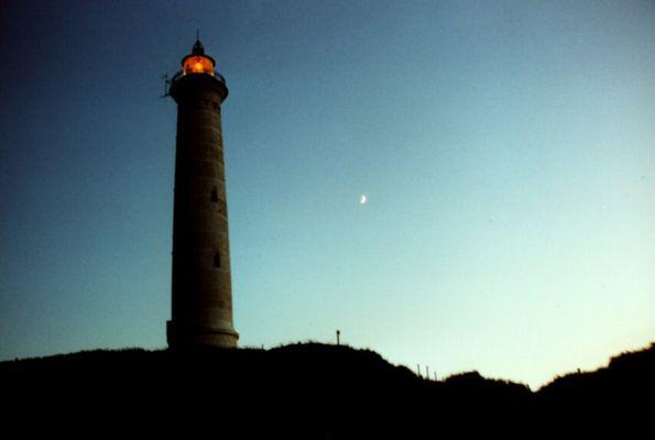 Leuchtturm am Ringkobing Fjord