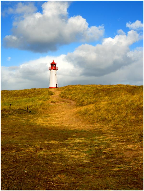 Leuchtturm am Sylter Ellenbogen