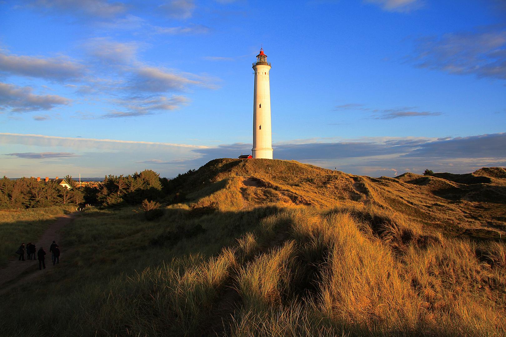 Leuchtturm an der Westküste von Dänemark