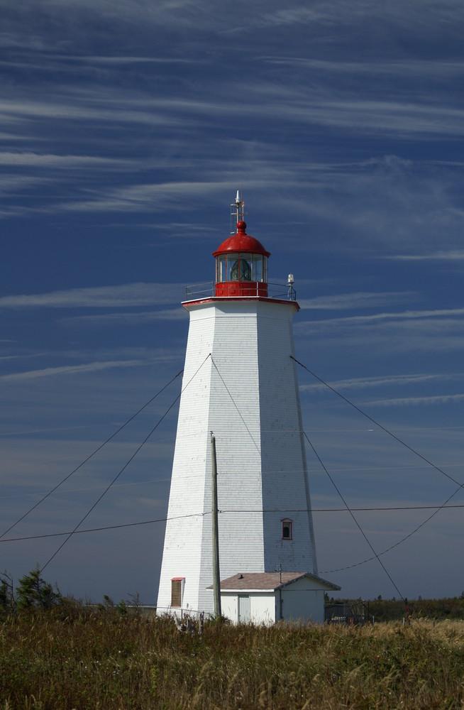 Leuchtturm auf der Ile Miscou