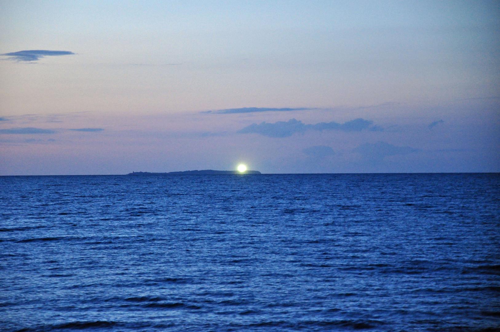 Leuchtturm auf der Insel Oie