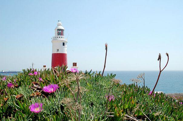 Leuchtturm auf Gibraltar mal anders gesehen