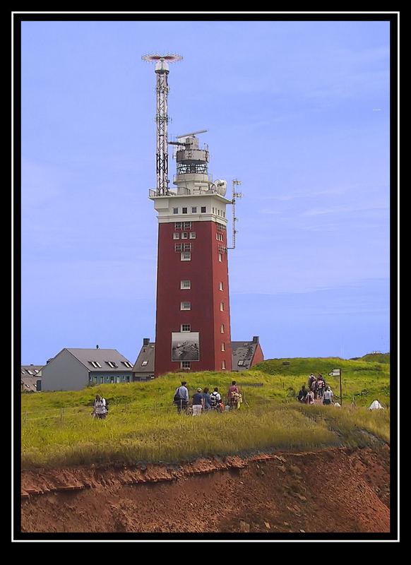 Leuchtturm auf Helgoland