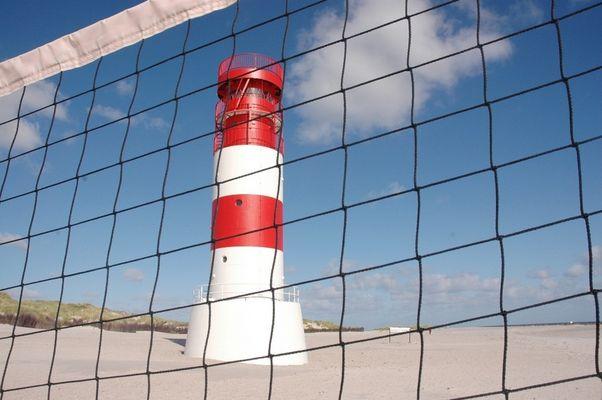 Leuchtturm auf Helgoland/Düne