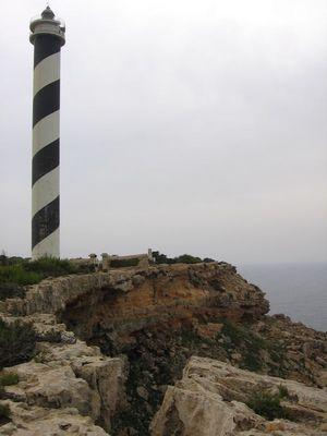 Leuchtturm auf Ibiza