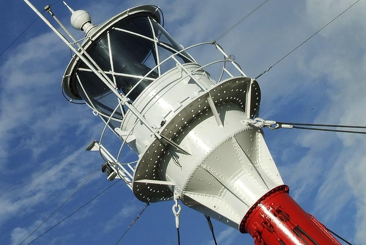 Leuchtturm außer Betrieb