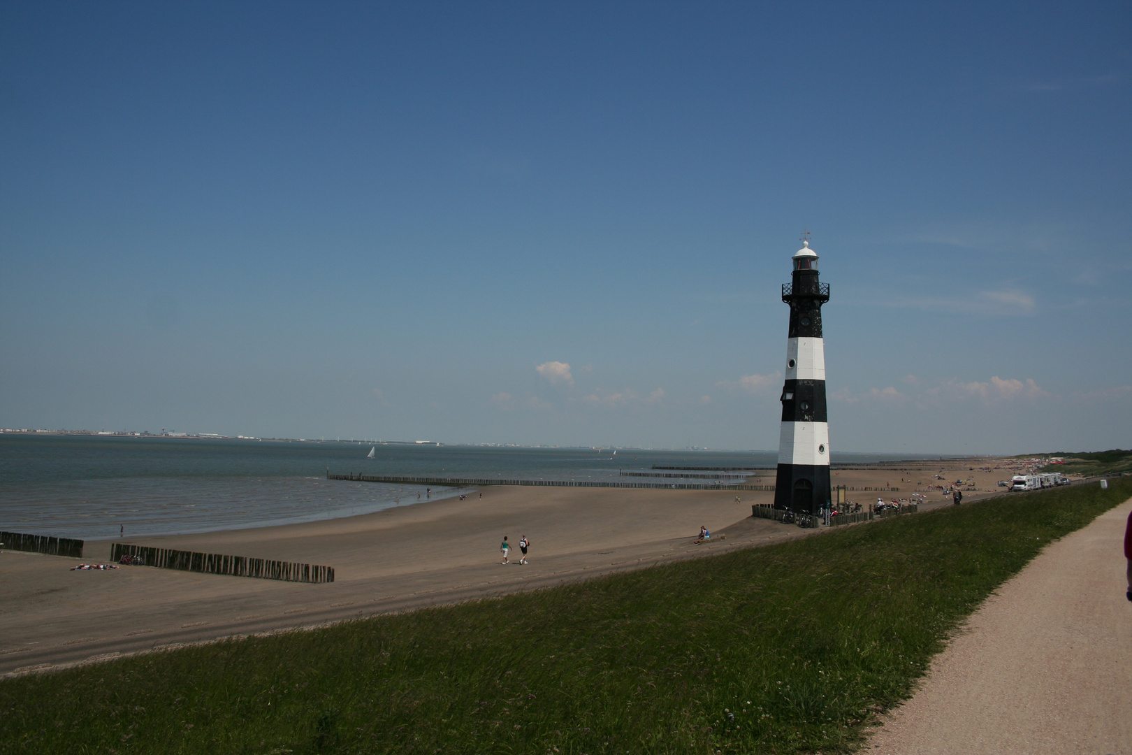 Leuchtturm bei Gröde ( NL )