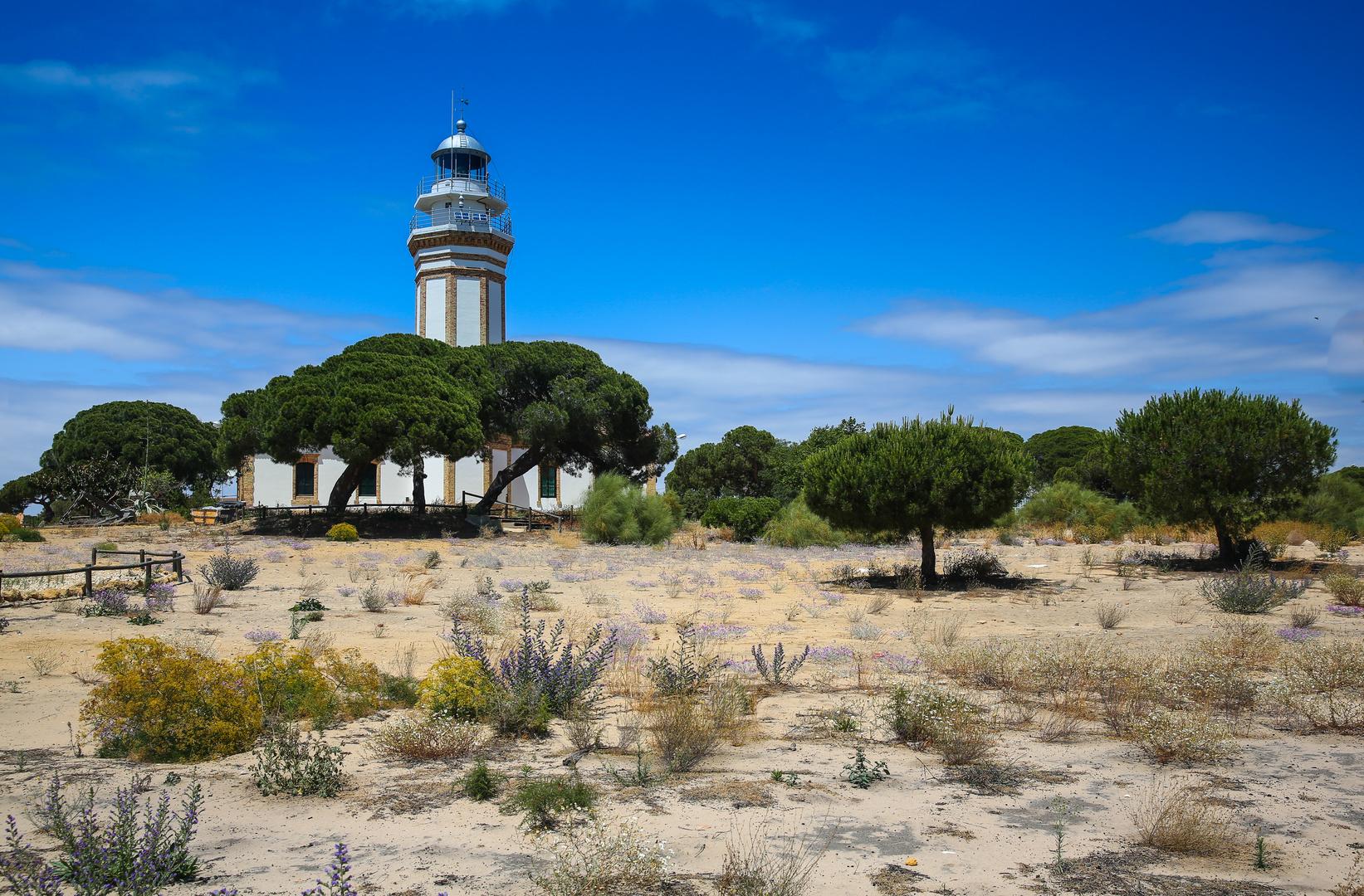 Leuchtturm bei Huelva