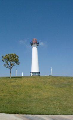 Leuchtturm bei Long Beach.