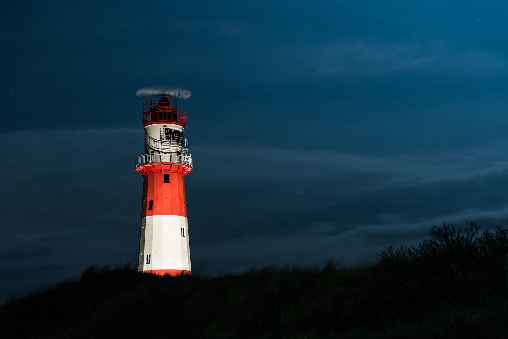 Leuchtturm bei Nacht 1